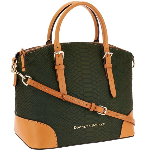 Dooney & Bourke Handbags - 🚫SOLD🚫Dooney & Bourke Domed Leather Satchel